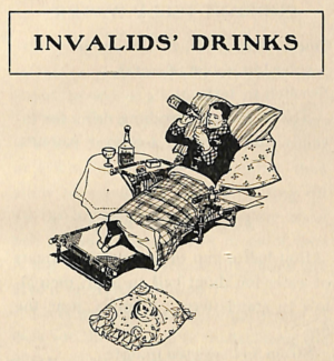 Invalids' Drinks 1900s Recipes
