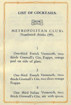 1920 Cocktails (Metropolitan Club Washington DC) p.05