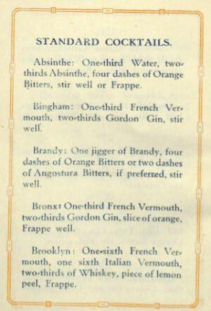 1920 Cocktails (Metropolitan Club Washington DC) p.10