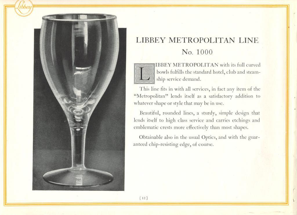 1927 Libbey Glass Mfg Co. No-nik. p.12