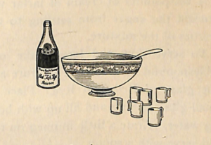 Punch Cocktail Recipes of 1900s