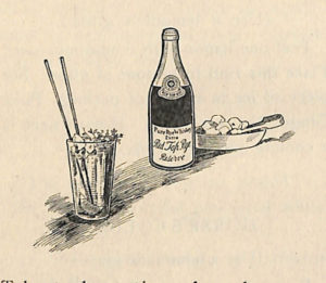 Fancy Drinks Cocktail Recipes of 1900s