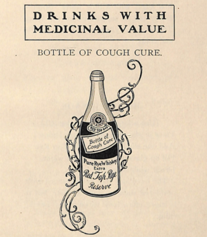 Drinks With Medicinal Value 1900s Recipes