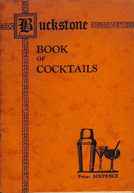 The Buckstone Book of Cocktails (1925)