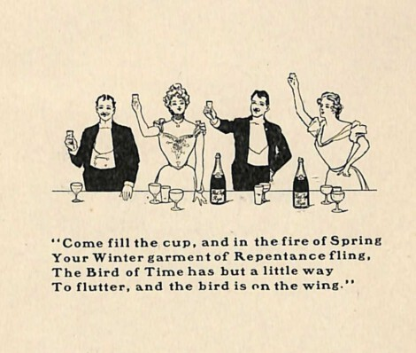 The proper time for various drinks